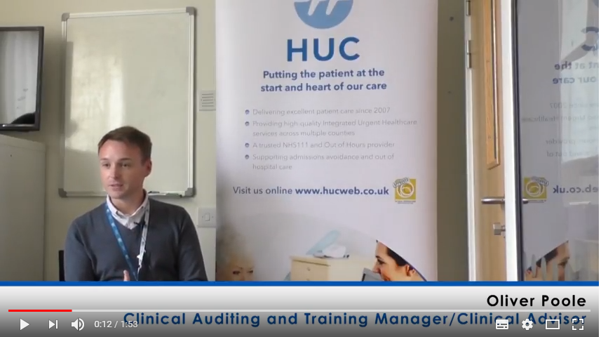 Clinical Auditing and Training Manager Oliver Poole explains why he enjoys working for HUC and NHS111
