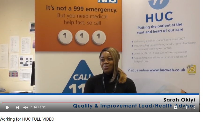 Meet our team at HUC and find out why they enjoy working for us and NHS111