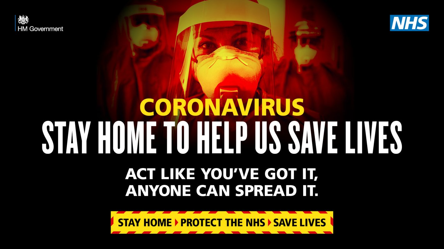 Coronavirus - Stay Home, Save Lives